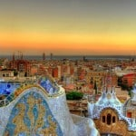 Roof tops of Barcelona